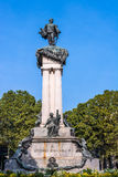 The monument of Vittorio Emanuele II in Turin, Italy Stock Images