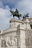 Monument of Vittorio Emanuele in Rome, Italy Royalty Free Stock Photography