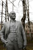 Monument of Vladimir Lenin stock photos
