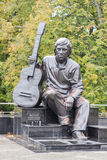 The monument of Vladimir Vysotsky Stock Photos