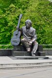 Monument of Vladimir Vysotsky. Kaliningrad, Russia Stock Images