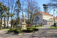 Monument von Adam Mickiewicz Stockbild