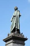 Monument von Adam Mickiewicz - polnischer Nationaldichter, Krakau Stockfotografie