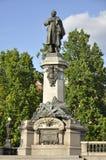 Monument von Adam Mickiewicz, Warschau, Polen Stockfotos