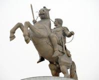 Monument von Alexander The Great lizenzfreies stockbild