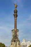 Monument von Columbus Stockfotos