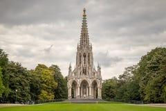 Monument von Leopold I, Brüssel, Belgien stockfotos