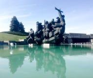 Monument von Soldaten Stockbild
