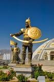 Monument von Unabhängigkeit in Aschgabat Lizenzfreie Stockfotos