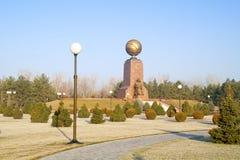 Monument von Unabhängigkeit und von Humanismus Stockbilder