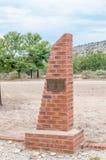 Monument voor mensen die in een vloed stierven Royalty-vrije Stock Fotografie