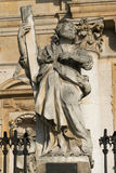 Monument vor der Kirche von St. Peter und Paul in KrakÃ-³ w Lizenzfreie Stockbilder