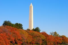 Monument of Washington DC Stock Photo