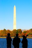 Monument of Washington DC Royalty Free Stock Photography