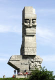 Monument on the Westerplatte of Gdansk in Poland Royalty Free Stock Photos
