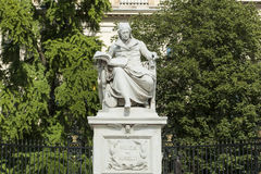Monument Wilhelm Humboldt Berlin stockbild