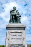 The monument of William  the First, Prince of Oranje on Het Plei Royalty Free Stock Images