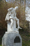 Monument of William Shakespeare, Weimar Stock Photography