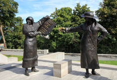 The Monument Women are Persons Stock Photo