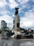 King Taksin Monument royalty free stock images
