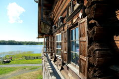 A monument of wooden architecture in the historical-architectural and ethnographic Museum, Kizhi in the Republic of Karelia of the. A typical example of a Royalty Free Stock Image