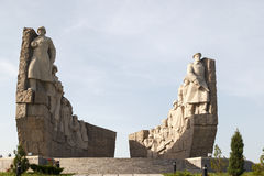 Monument of World War 2 Royalty Free Stock Photos