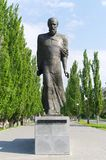 Monument of writer Dostoevsky. Omsk, Russia. Royalty Free Stock Photo