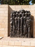 Monument in Yad Vashem.Holocaust Memorial.Jerusalem Royalty Free Stock Photography