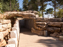 Monument in Yad Vashem.Holocaust Memorial.Jerusalem Stock Photography