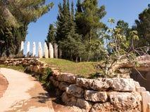 Monument in Yad Vashem.Holocaust Memorial.Jerusalem Stock Image
