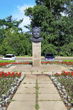Monument of Yuri Gagarin in Irkutsk Royalty Free Stock Image