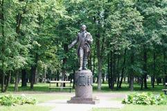 Monument Zorich Semyon Gavrilovich. ShkloÅ. Belarus Royalty Free Stock Images