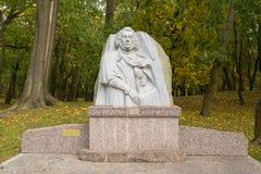 Monument zu Adam Mickiewicz Lizenzfreies Stockfoto