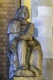 Monument zu Adam Mickiewicz, Warschau Stockfoto