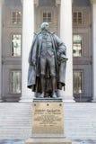 Monument zu Albert Gallatin Stockfoto