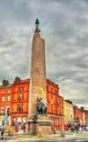 Monument zu Charles Stewart Parnell Lizenzfreie Stockbilder