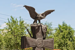 Monument zu den Einwohnern von Tsaritsyn - die Teilnehmer von t Stockfotos
