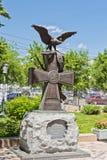 Monument zu den Einwohnern von Tsaritsyn - die Teilnehmer von t Lizenzfreie Stockfotografie