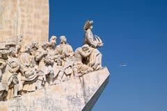 Monument zu den Entdeckungen, Details Lizenzfreies Stockfoto
