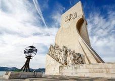 Monument zu den Entdeckungen Lissabon Portugal Stockfotografie