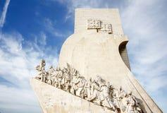 Monument zu den Entdeckungen Lissabon Portugal Stockfoto