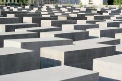 Monument zu den ermordeten Juden von Europa in Berlin Stockfotografie