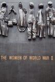 Monument zu den Frauen des Zweiten Weltkrieges Stockbild