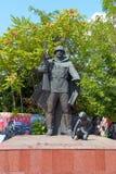 Monument zu den gefallenen Lehrern und zu den Studenten Lizenzfreie Stockfotos