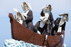 Monument zu den Nonnen auf der Ufergegend in Dumaguete, Philippinen Lizenzfreie Stockfotos