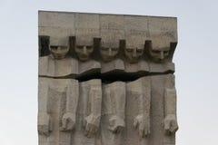 Monument zu den Opfern des Faschismus in Krakau Stockbilder