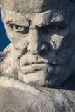 Monument zu den sowjetischen Soldaten in den Ruinen der Brest-Festung Lizenzfreies Stockbild