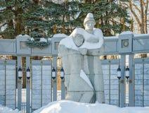 Monument zu den verlorenen Soldaten lizenzfreie stockfotos