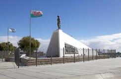Monument zu den Waliser-Siedlern bei Puerto Madryn, eine Stadt in Chubut-Provinz, Patagonia, Argentinien lizenzfreie stockbilder