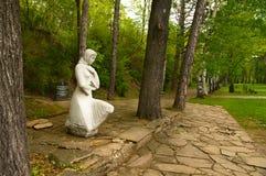 Monument zu Ehren der gefallenen russischen Soldaten auf Shipka. Lizenzfreies Stockfoto